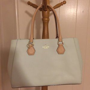 Pre-Owned Kate Spade Louise Mint Tote Bag